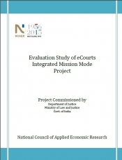 Evaluation Study of eCourts Integrated Mission Mode Project